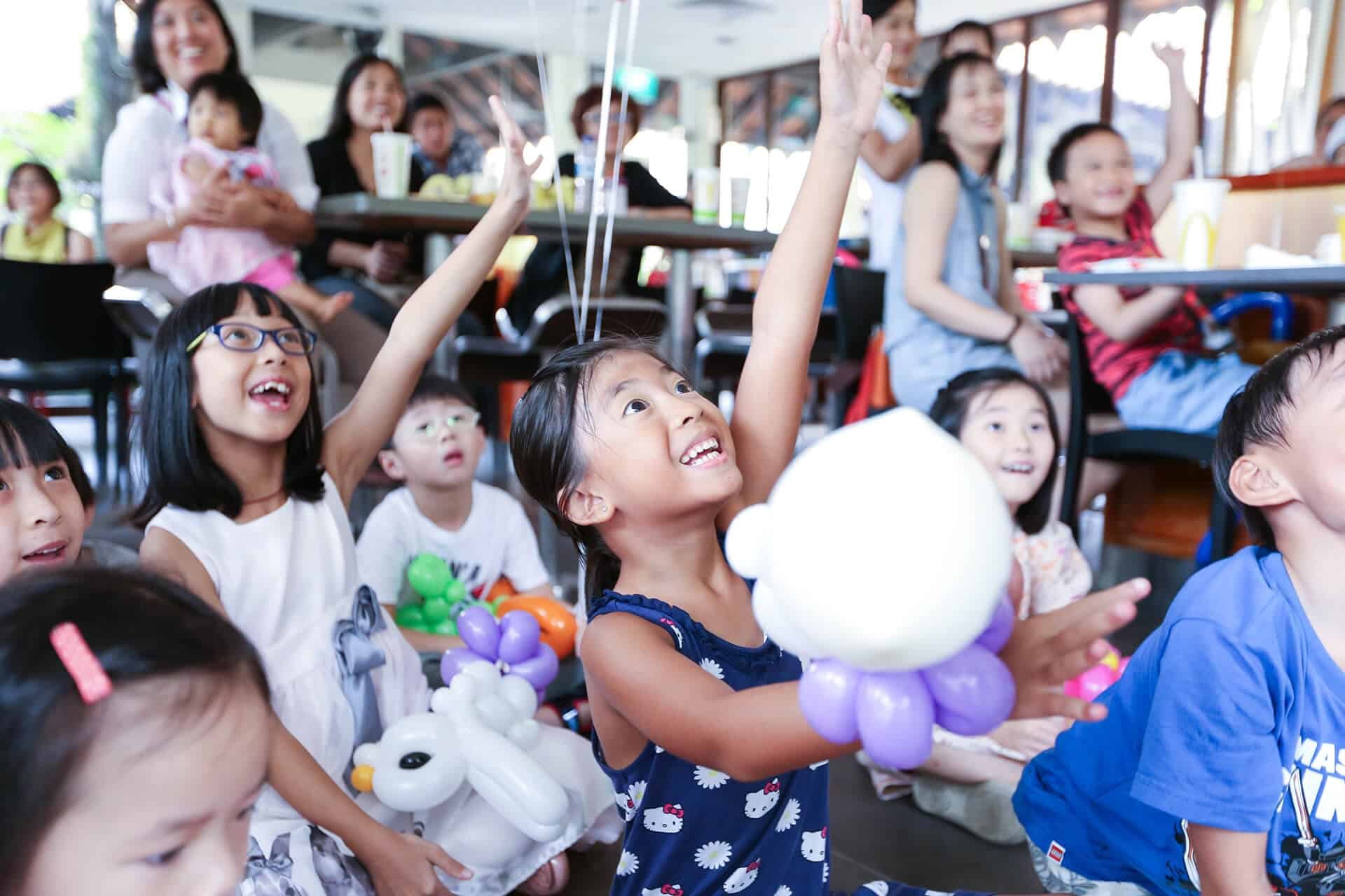 kids party planner singapore