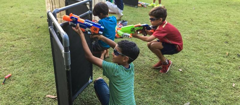 NERF GUN KIDS PARTY