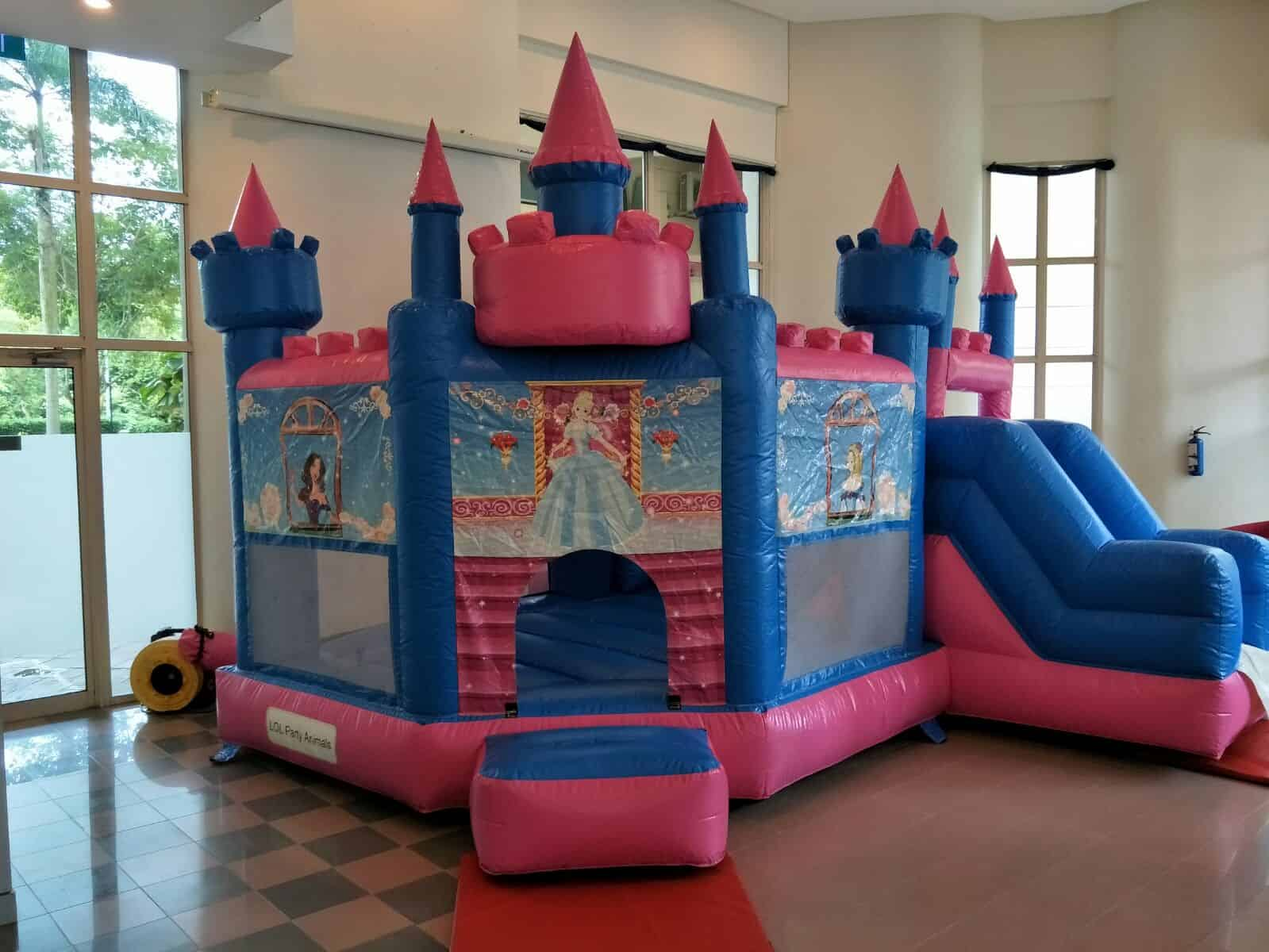 Princess Fortress Bouncer