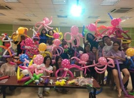 Balloon Sculpting Workshop Singapore