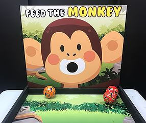 Carnival Game Stall Feed the Monkey Jellybean Party