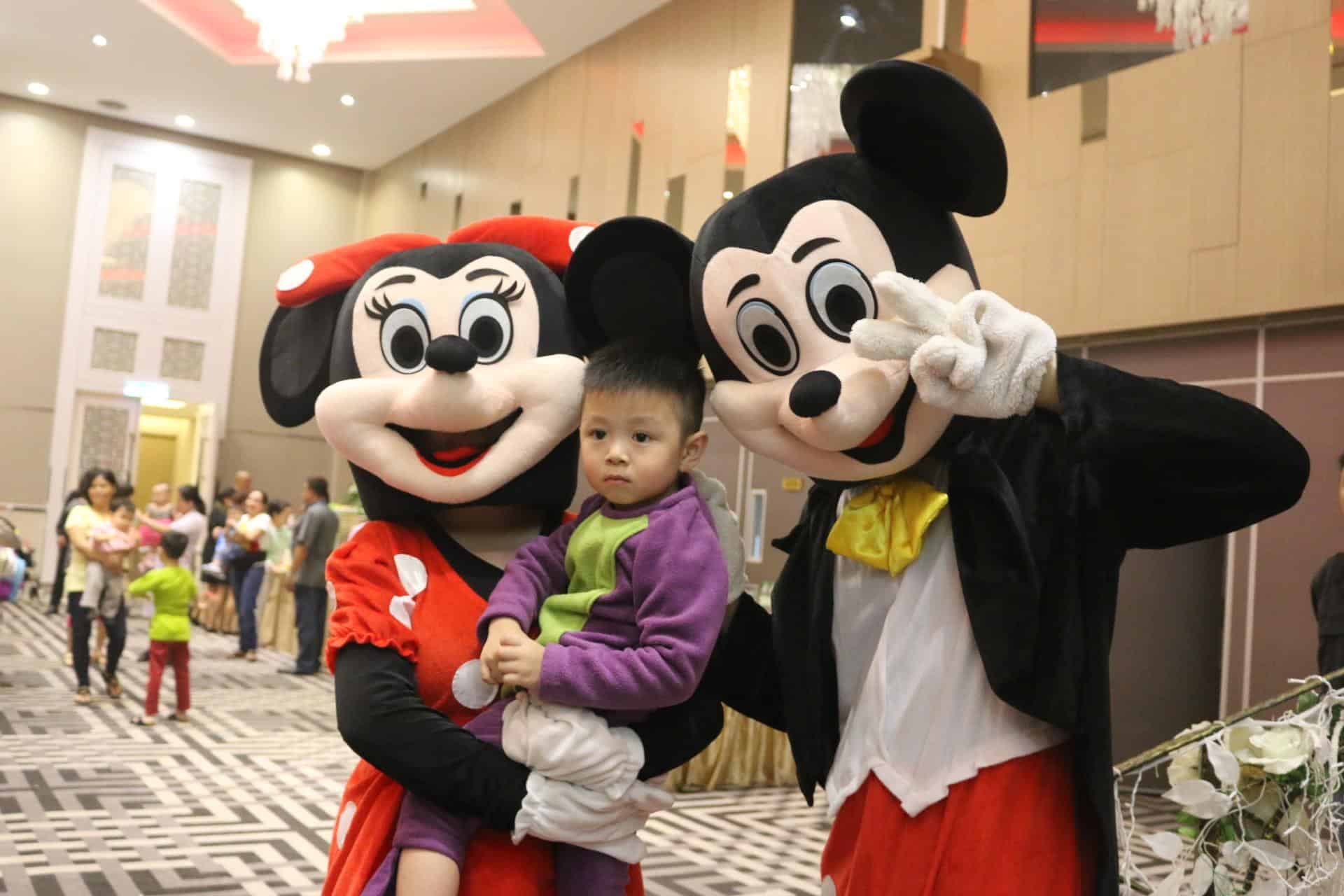 Mickey Minnie Mascot rental singapore