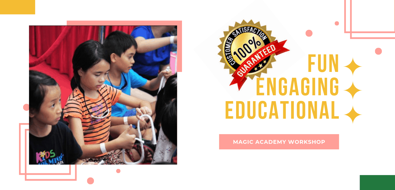 Kids Magic Workshop with Jellybean Party