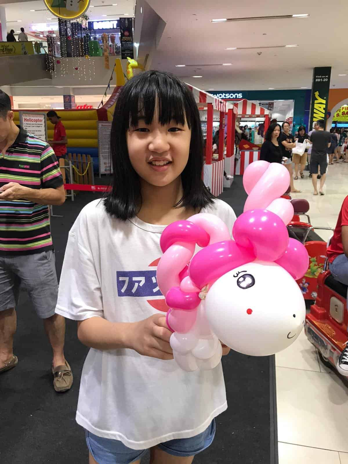 POPULAR KIDS PARTY BALLOON SCULPTING UNICORN