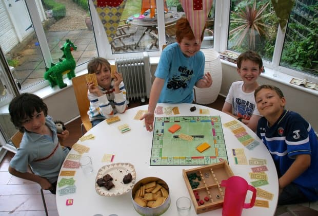 kIDS mONOPOLY BOARD GAME HOSTING