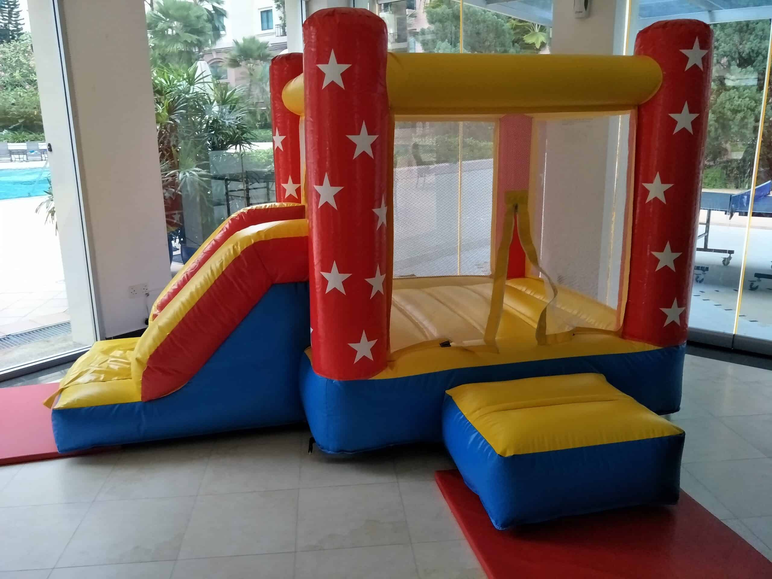Starry Bouncy Castle Rental