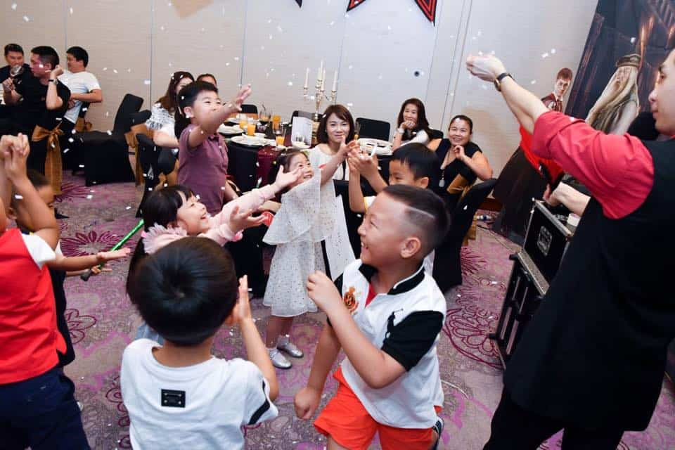Jellybean Kids Party hosting