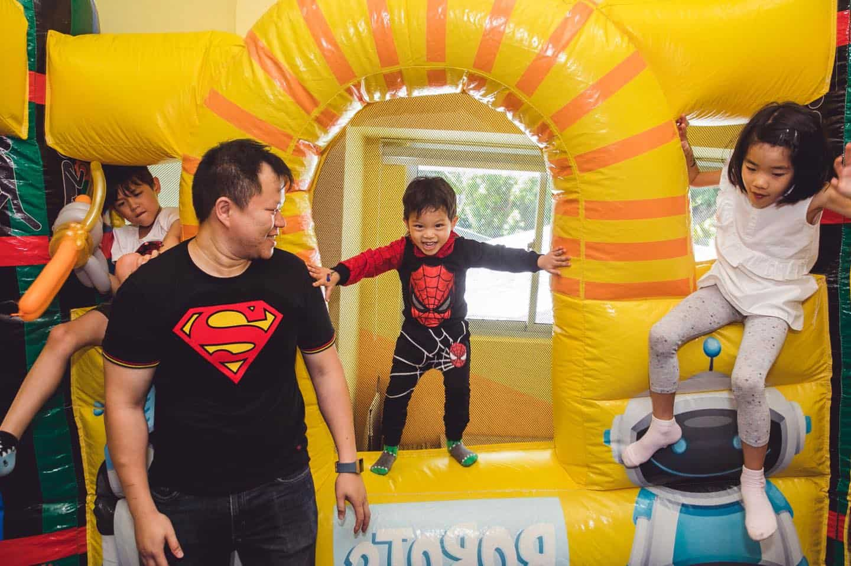 bouncy castle robot castle rental